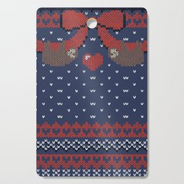 A Lazy Winter Sweater Cutting Board
