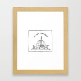 December Twenty-Second Framed Art Print
