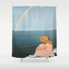 Hopeful Shower Curtain