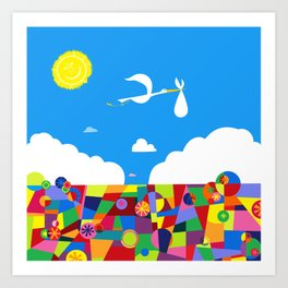 Up! Nursery Art Art Print