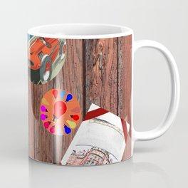 LOVE TRAVEL POSTCRDS N15 Coffee Mug
