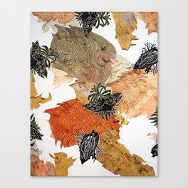 Carbonation Collection: pumpkin Canvas Print