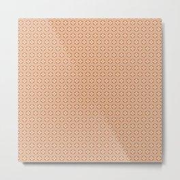 Beautiful Pattern #26 Orange flowers Metal Print