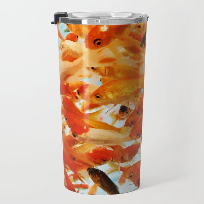 Fish Chaos Travel Mug