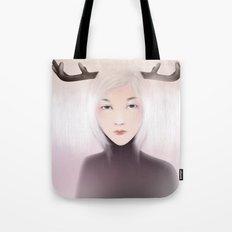 women_deer Tote Bag
