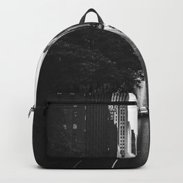 New York City (Black and White) Backpack
