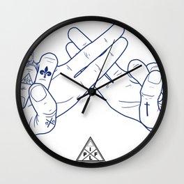 Make My Hands Famous - Part II Wall Clock