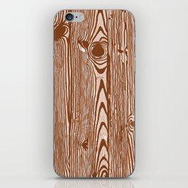 c13D Woodgrain iPhone Skin