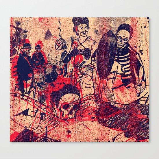 Boom Doom Ka Doom Canvas Print