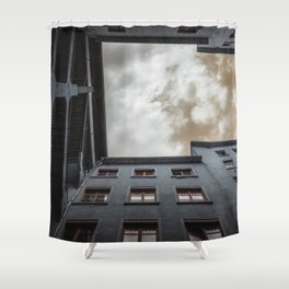 what's up in Lyon?.. Shower Curtain