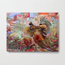 Fenghuang Metal Print