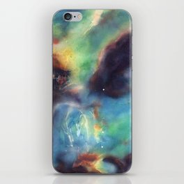 Surface Tension (Star Cluster NGC 2074) iPhone Skin
