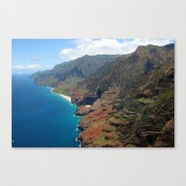 Napali Coast Canvas Print