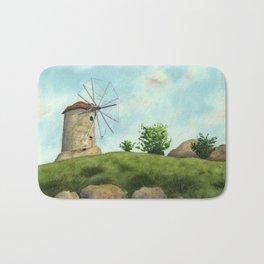 Windmill Bath Mat