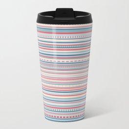 dashed barcode  Travel Mug