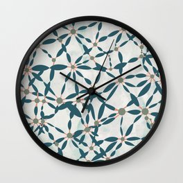 Conversations in Mint Wall Clock