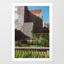 Elizabeth Street Garden Art Print