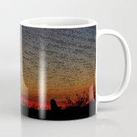 desert Mugs featuring Desert by RingWaveArt