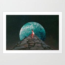 Interplanetary Love Art Print
