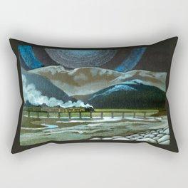 Night Passage - WW480 Steam Rectangular Pillow