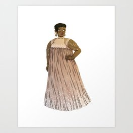 Dress #3 Art Print