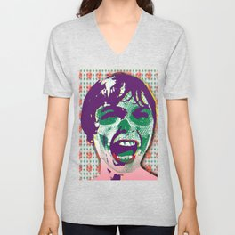 The Scream #9 Unisex V-Neck