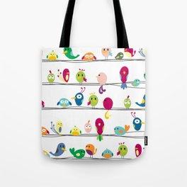 Singing Monsters Tote Bag