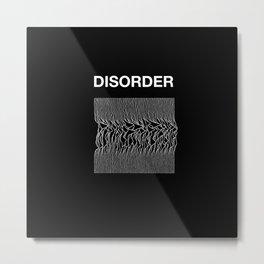 Disorder. A Joy Division/Peter Saville tribute. Metal Print