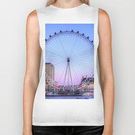 The London Eye, London Biker Tank