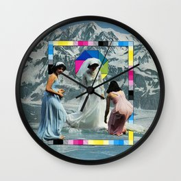 """""""forever"""" Wall Clock"""