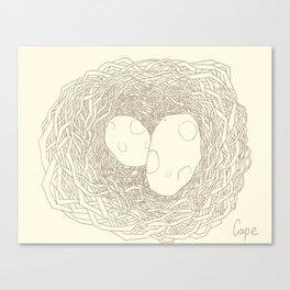 Who Egg ?  Canvas Print