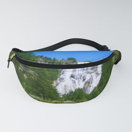 View on Cascata del Toce Fanny Pack
