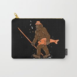 Fishing & Yeti Design: Bigfoot Carrying Fish Carry-All Pouch