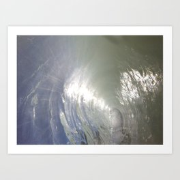 Albas wave Art Print