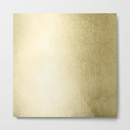 Simply Gilded Palace Gold Metal Print