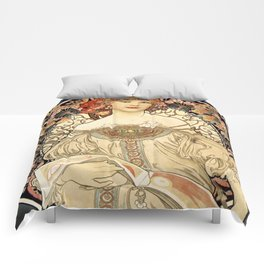 Art Nouveau Comforters