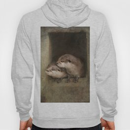 The curious otters Hoody