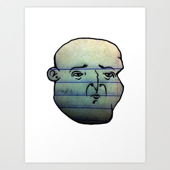 F A C E 2 Art Print