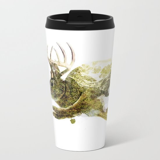 Jackalope Metal Travel Mug