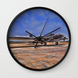 B-17 Flying Fortress Wall Clock