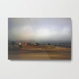 Tuscan Landscape #3. Between Florence and Rome. Metal Print
