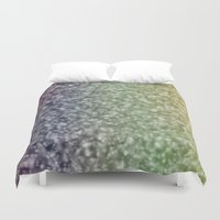 glitter Duvet Covers featuring Glitter by David Zydd