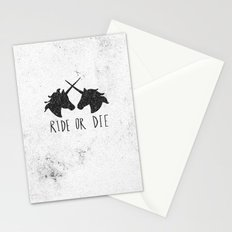 Ride or Die x Unicorns Stationery Cards