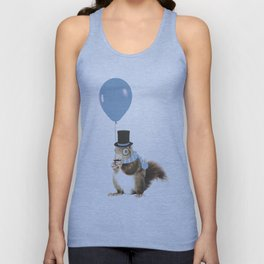 party squirrel Unisex Tank Top