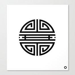 Shou Canvas Print