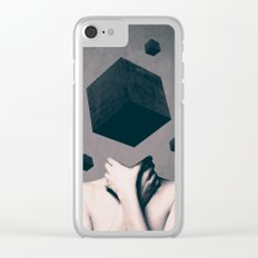 Think Outside The Box Clear iPhone Case