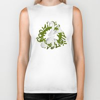 hiphop Biker Tanks featuring Hiphop by Lydia Wingbermuhle