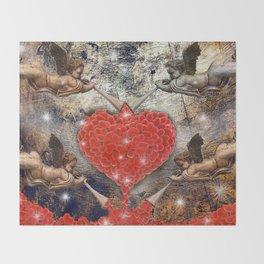angels love Throw Blanket