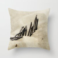 dune Throw Pillows featuring Dune by Mario Sa