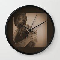 vienna Wall Clocks featuring Vienna I by C Blackburn
